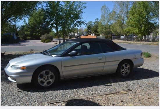 2000 Chrysler Sebring Passenger Car, VIN # 3C3EL55H1YT204155