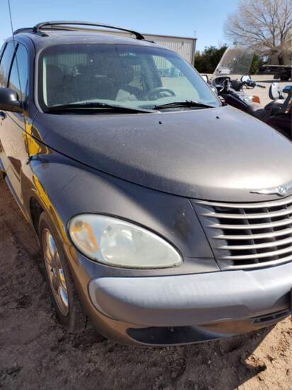 2002 Chrysler PT Cruiser Multipurpose Vehicle (MPV), VIN # 3c8FY68B62T335036