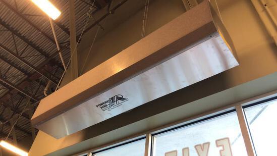 Powered Aire 7' Air Curtain