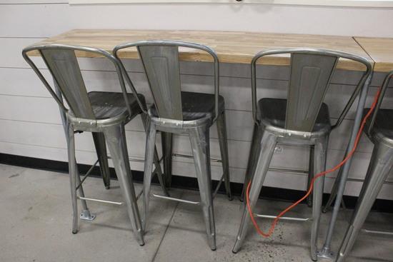 Wall Mounting Bar Tables