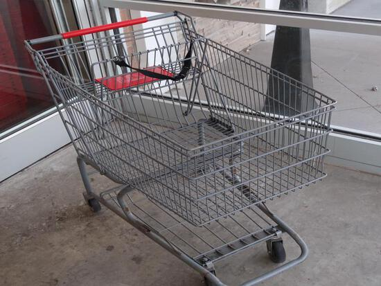 shopping carts, single basket