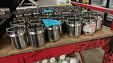Stainless sauce containers