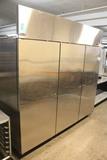 Norlake Three Door Stainless Freezer