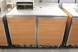 Duke 4' Worktop Table W/ Cabinets