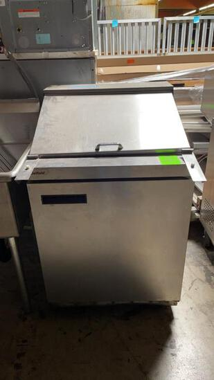 Delfield refrigerated prep table