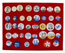 Huge Lot of Vintage Campaign or Political Buttons