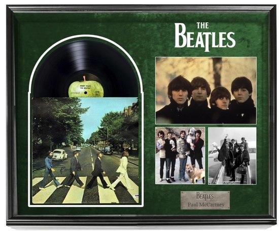 "Beatles ""Abbey Road"" Paul McCartney Signed Album"