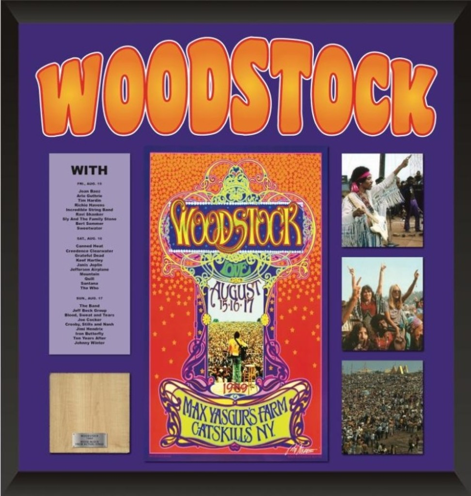 Woodstock Collage - Multiple Autographs