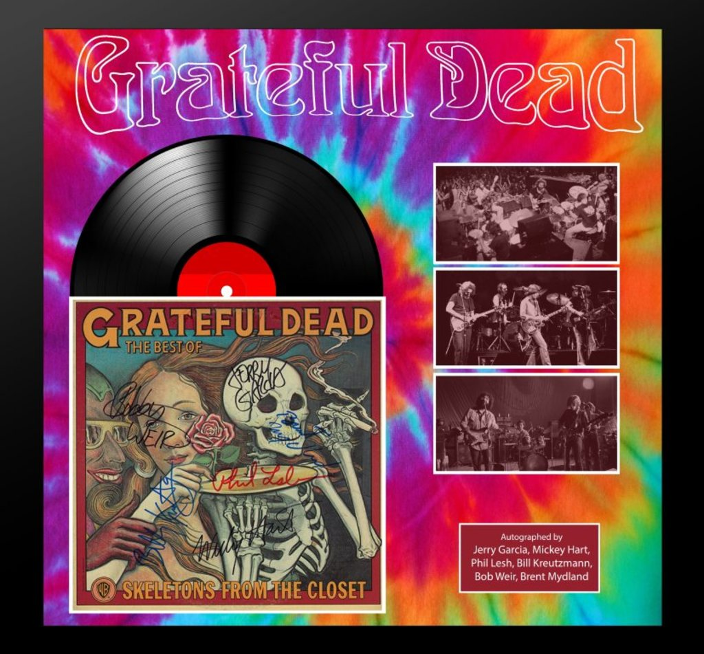 "Grateful Dead ""Skeletons From the Closet"" Album"