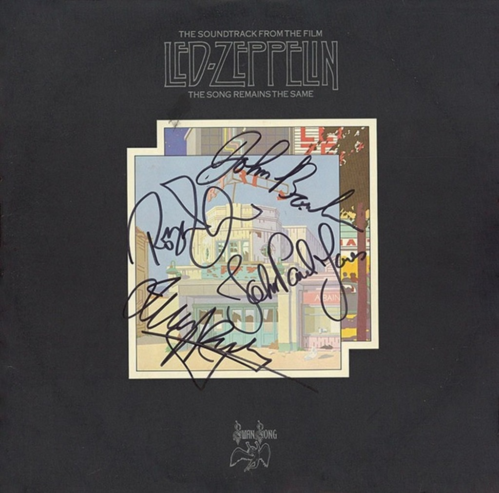 """Led Zeppelin """"The Song Remains the Same"""" Album"""