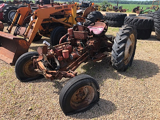 FORD 8N TRACTOR, SHERMAN TRANSMISSION, FRONT DIST , PARTS AS