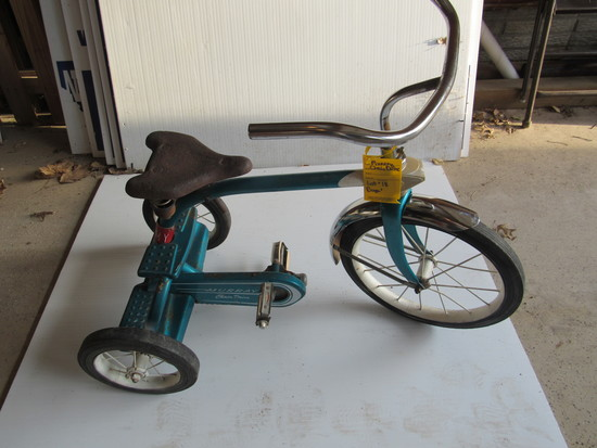 1960' MURRAY CHAIN DRIVE TRI-CYCLE (COMPLETE ORIGINAL)