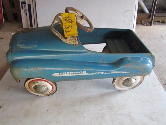 1950's MURRAY, CHAMPION, COUPE, JETFLOW DRIVE