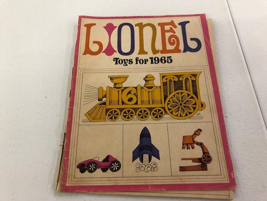 Lionel Toy book