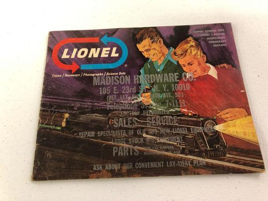 Lionel advertising book