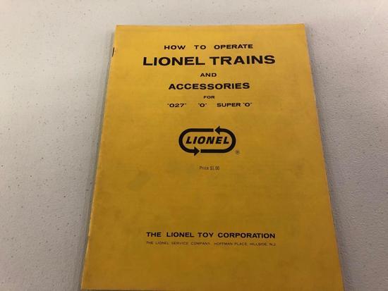 Lionel trains book