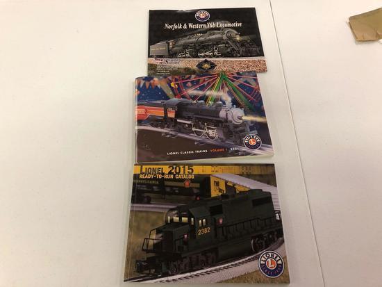 Lionel train books