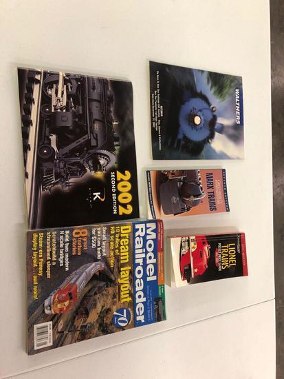 Various train books