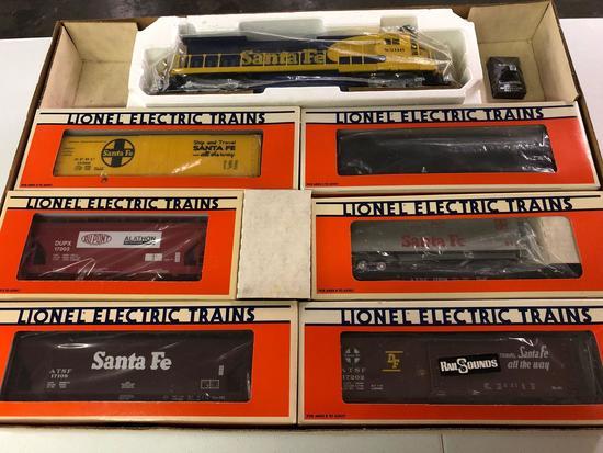 Lionell train set