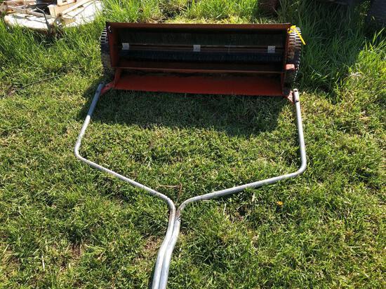 Case lawn sweeper