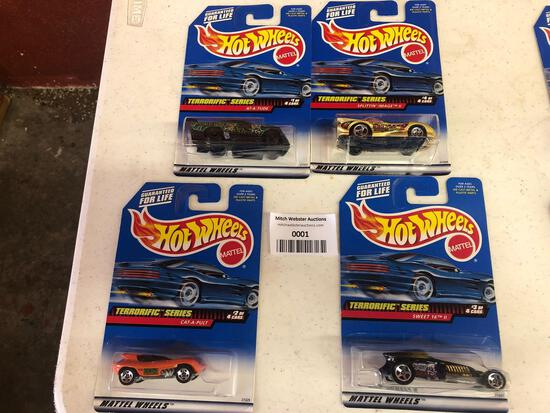 1998 terrorific series 1-4 cars
