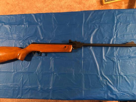 BB gun would stock and forearm