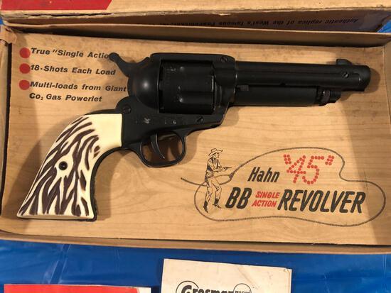 Hahn 45 BB single action revolver