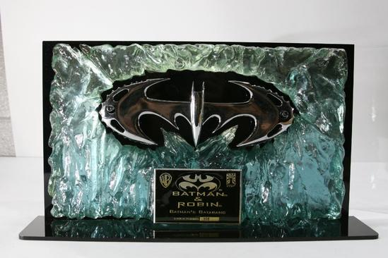 Batman's Batarang Movie Prop with Certificate of Authenticity