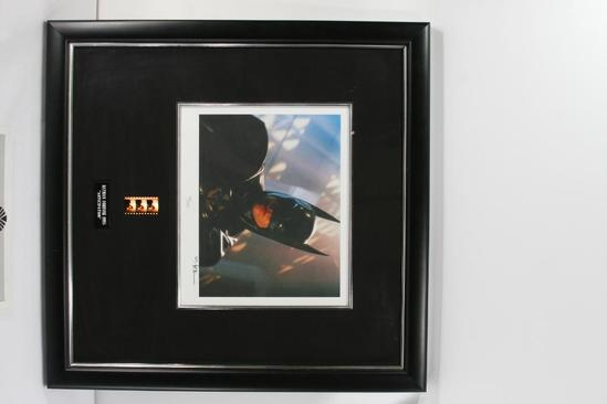 Framed Senigraph with 3 Frames of Film and Val Kilmer Autograph with Certificate of Authenticity