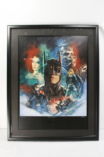 Framed Print Signed by Illustrator C. Michael Dudash with Certificate of Authenticity 100/250