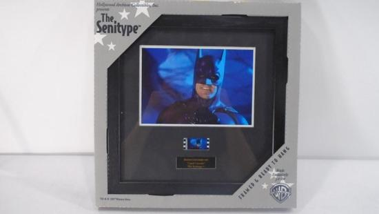"Batman and Robin ""Caped Crusader"" Senitype with Certificate of Authenticity"