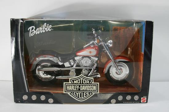 Harley Davidson Motorcycle for Barbie doll
