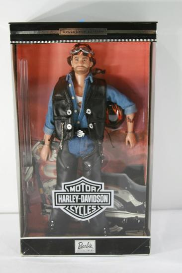Harley Davidson Barbie Collectible Ken Doll