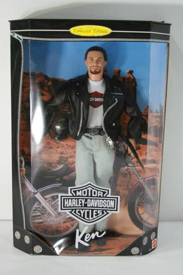 Barbie Doll Harley-Davidson Ken Doll