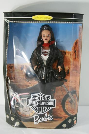 Barbie Doll Harley-Davidson with Helmet Backpack Glasses