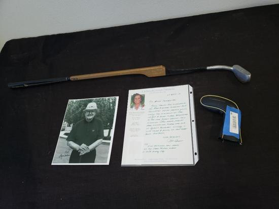 VINTAGE BYRON NELSON'S PERSONAL NORTHWESTERN PUTTER