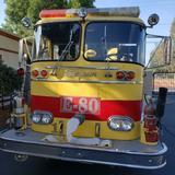 Vintage 1966 Seagrave Firetruck E-80 Museum Vehicle