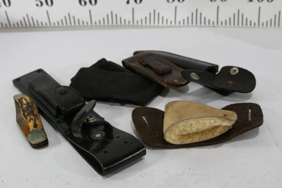 Misc knife sheaths