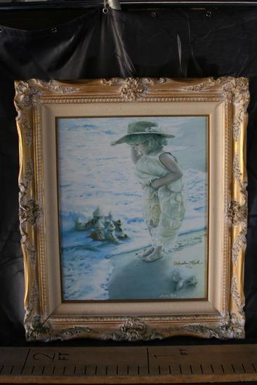 "23x27"" Framed Art by Sandra Kuck Serenity"" 114/395"