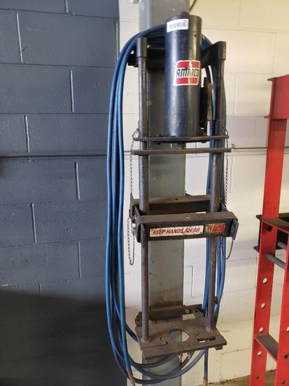 Wall Mounted Ammco Spring Compressor Shop Press Works