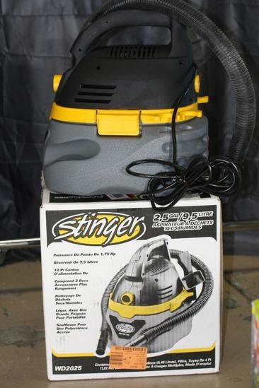 Stinger Vacuum. 2.5-gal. Wet/Dry WD2025
