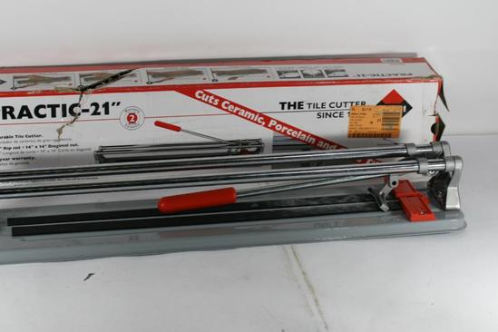 Rubi Practic 21 in. Manual Tile Cutter .upc 8413797249460