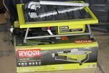 Ryobi ZRWS722 7 in. Portable Wet Tile Saw. upc 033287159833