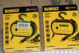 2 Units Dewalt-dxaewpc4 4 Amp Professional Waterproof Battery Chargers