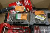 Assorted Husky Tools Micro Drivers, Ratchet & Sockets Sets