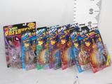 Various Marvel's X-Men Action Figures, Wolverine, Iceman, Polaris, etc