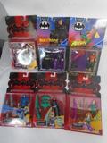 Various Batman and Robin Action Figures, Robin, Mr Freeze, Batgirl, etc.