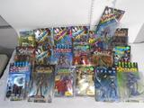 Box of Various Spawn Action Figures, Violator II, Curse of the Spawn, Battleclad Spawn, etc.