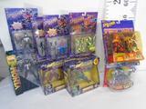 Box of Various Spiderman Action Figures, Venom, Man-Lizard, Vault Guardian, etc.