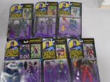 Box of Various DC's Legends of Batman Action Figures, Joker, Knightquest Batman, Catwoman, etc.